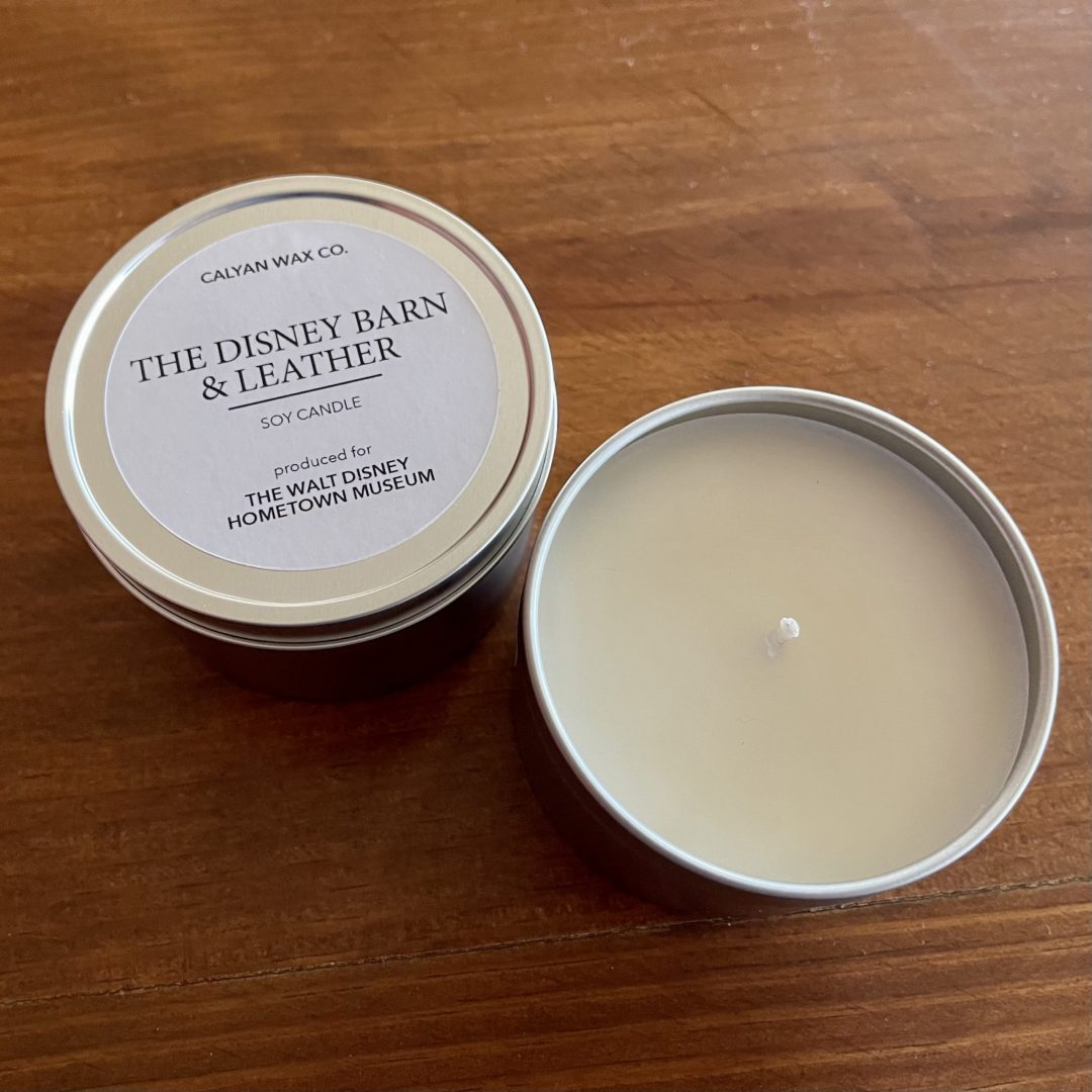 Soy Candle - Disney Barn + Leather