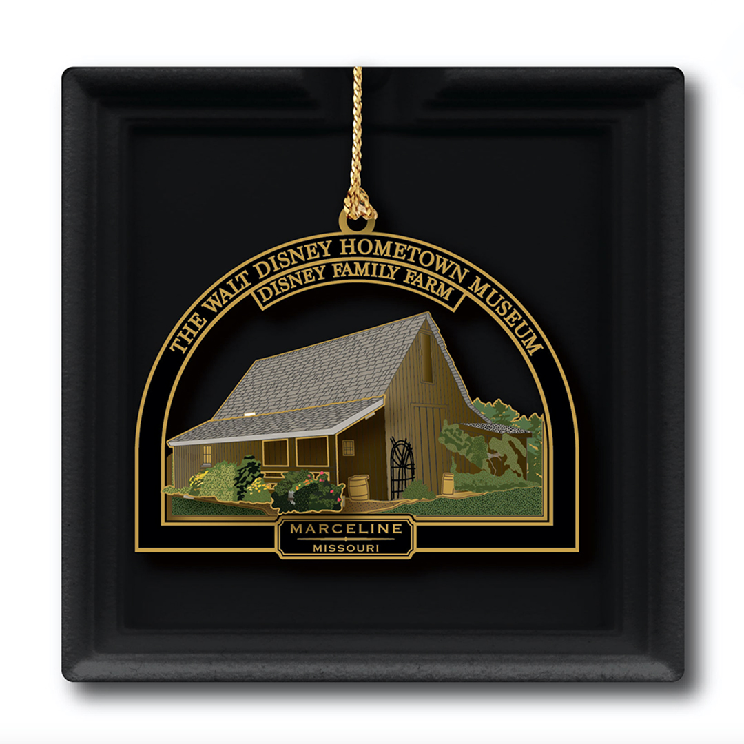 Ornament - Metal - Disney Barn